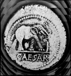 Denar Gaius Julius Caesar