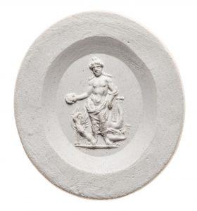Apollon. Maße: 21,1x19,1 mm. Original: Nicolo mit dünner dunkelblauer Deckschickt und schwarzem Schrägrand, 1. Jh. n. Chr. Berlin SMB 32.237,44. Literatur: Weiß 2007, 148 Nr. 88, Taf. 14.